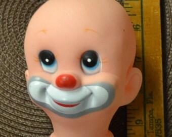 Vintage Clown Doll Head