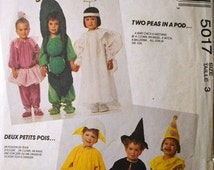 ON SALE Butterick 5017 Children's Costumes Size 3  Complete