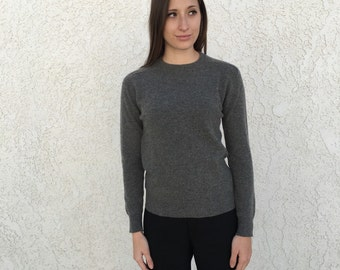 Vintage 70s Bullocks slim fit Cashmere sweater