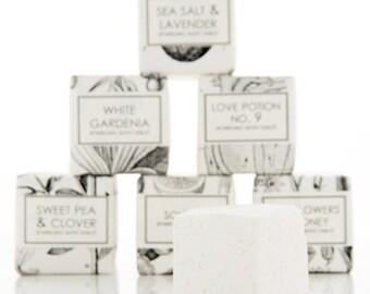 Lavender Bath Bomb with Dead Sea Salt – Essential Oil Bath Fizzies