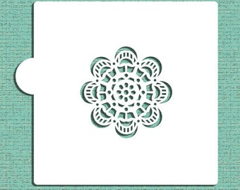 Mandala #1 Cookie and Craft Stencil - Designer Stencils (CM058)