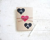 Valentine Card Customize, Personalize, Chalkboard Hearts