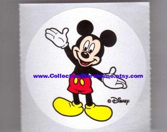 "Mickey Mouse Disney Store Sticker 2"" round mod"
