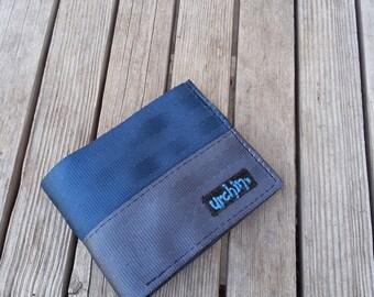 Wallet with change pocket - Seatbelt Wallet - Recycled Seatbelts - Recycled Wallet - Upcycled Wallet - Mens Wallet - BiFold Wallet