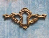 Bird Head Escutcheon Gargoyle Antique Furniture Keyhole Brass Medieval Skeleton Key Hardware Diy Jewelry Embellishment