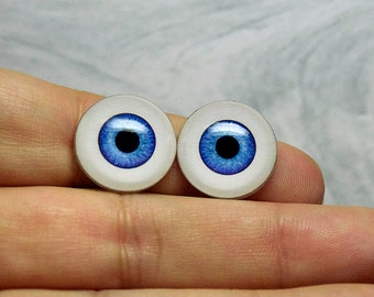 Doll eyes 17mm AD color FrenchBlue