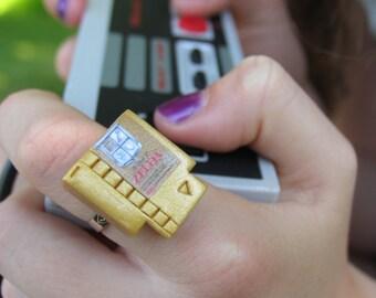 Zelda RING, Nintendo Ring, Zelda Jewelry, Nintendo Jewelry