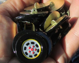 wheel buttons set of 10