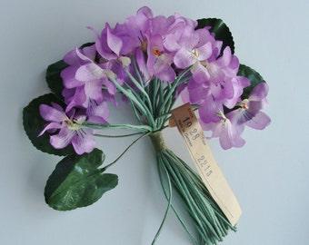 Vintage Silk Cloth Millinery Flower Germany