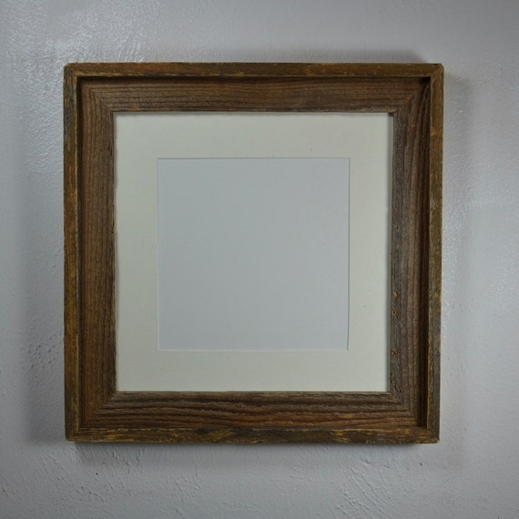 photo frame 12x12 with off white mat for 10x10 or 8x8 photo or. Black Bedroom Furniture Sets. Home Design Ideas