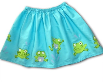 Girls frog Skirt / Baby Clothing / Children's Clothes