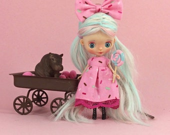 Custom Takara Petite Blythe, Lolli