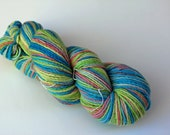 Easter Egg yarn -  worsted weight - 100% merino wool