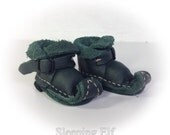witchyboo green buckle blythe boots