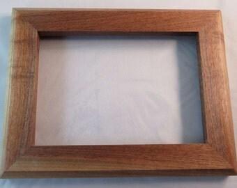 5x7 Black Walnut Sapwood Picture Frame AA
