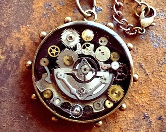 The Steampunk Medallion