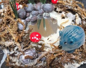 Mini Hedgehog Bog ONLY Accessory for Hedgehog Bog collection Hedgehog sold separately
