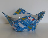 Microwave Fabric Bowl / Kitchen Utensils / Baking / Mixer / Food Warming Bowl / Ice Cream Bowl / Bridal Gift / Housewarming Gift