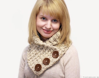 CROCHET PATTERN - Weekend Cowl - Instant Download (PDF)