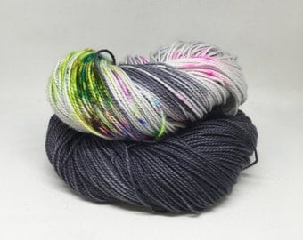 Dyed to order Hand Dyed Yarn - Aging Punks