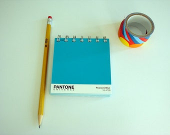 Pantone Notebook / Recycled Pantone Notebook / Artist Gift