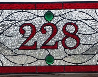 """Stained Glass Transom window - """"Traditional Design III"""" (TW-70)"""