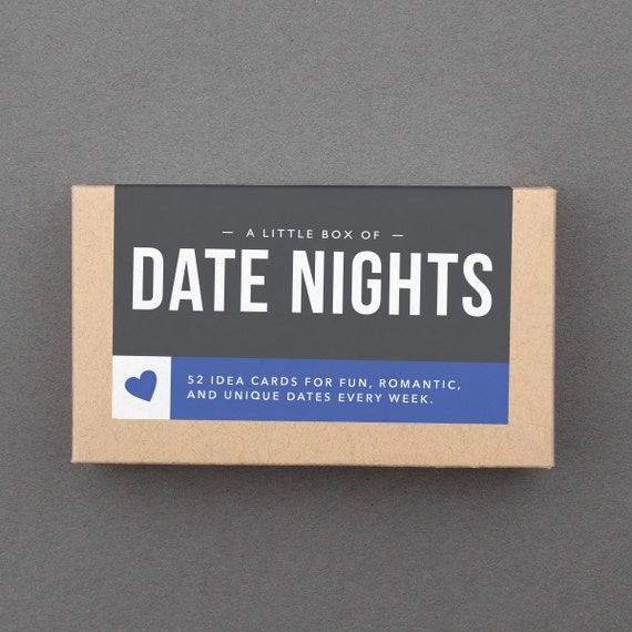 Date Night Jar. 52 Fun Date Night Ideas Date Night Cards