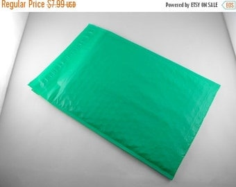 Halloween Stock Up Sale 25 Pack Bubble Lined 6X10 Inch Size 0 Green Mailing Envelopes Great Packaging option!