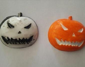 Pumpkin, Pumpkin king, Pumpkin barrette, Ready to ship, Halloween, Halloween headband, Halloween clip, Pumpkin hair clip