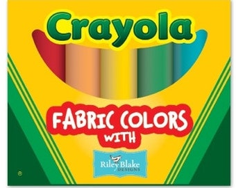 Crayola Solids Fat Quarter Box (FQB-CR120-10)