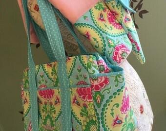 Watermelon Wishes Custom Diaper Bag Set