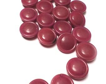 19 Muave Vintage Buttons