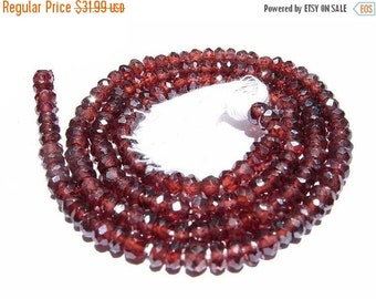 55% OFF SALE 14 inches AAA Mystic Garnet micro faceted rondelles Size 3.5mm
