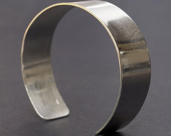 Sterling Silver Cuff Bracelet, Silver Bracelet, Sterling Silver Bangle, Cuff Bracelet for Women or Men, Cuff Bracelet Silver, Wide Bracelet