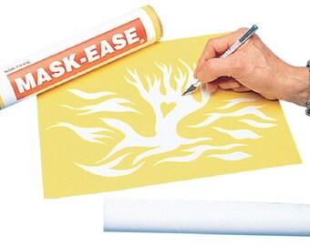 Mask Ease 10 x 15 sheet - Silkscreen Art fnt