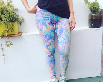 Acid Pastel Leggings