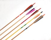 Collection of Vintage Archery Arrows (Set of 5)