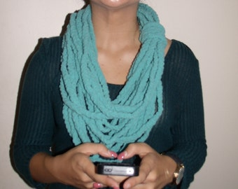 Super Soft Stylish Chain Stitch Scarf