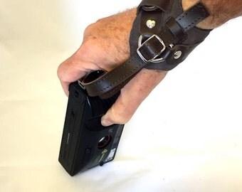 Wrist camera strap, black camera strap, adjustable hand camera strap