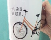 Bicycle Love Mug