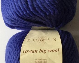 Rowan Big Wool Yarn (10 skeins)-Discontinued Color-Price is for 1 Skein