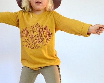 Organic Agave Long Sleeve shirt