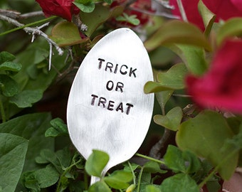 Trick or Treat Silverware Marker (E0530)