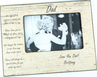Personalized Father's Day Frame, Dad, Daddy, Grandfather Frame, 4x6 frame, 5x7 Frame
