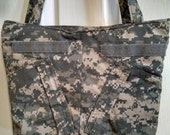 U S Army ACU Tote Bag