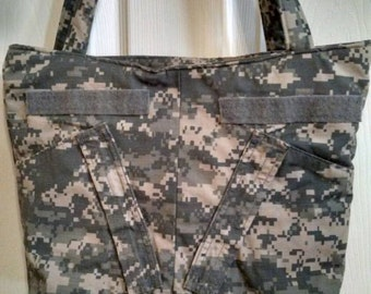 SALE:  Use 15Off to get 15% off - U S Army ACU Tote Bag