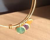 Jewel-tone Gem Bracelet