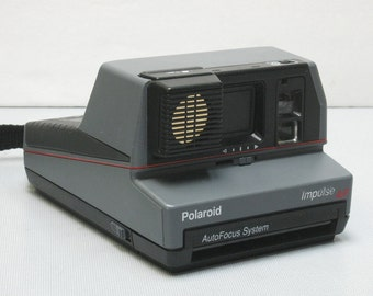 Vintage Polaroid Impusle AF with Auto Focus System Instant Film Camera for Impossible Project 600 Film