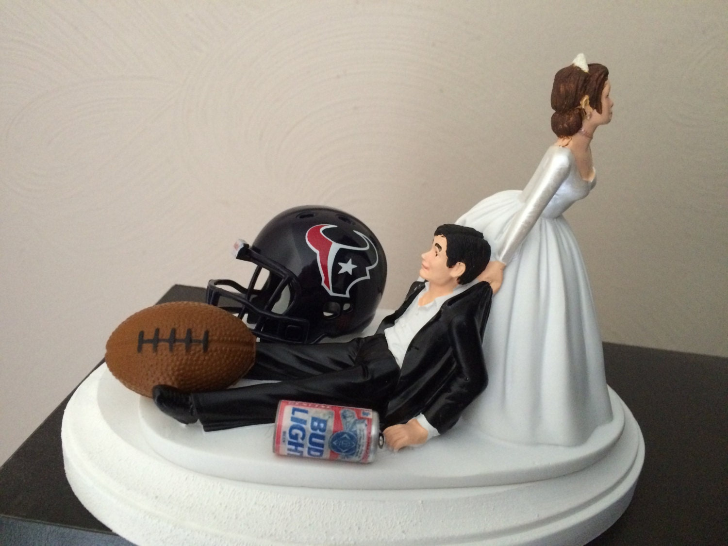 wedding cake toppers in houston tx houston texans cake topper bridal humorous wedding day 26508