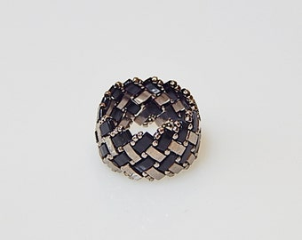 Basket Weave (Classic) Ring